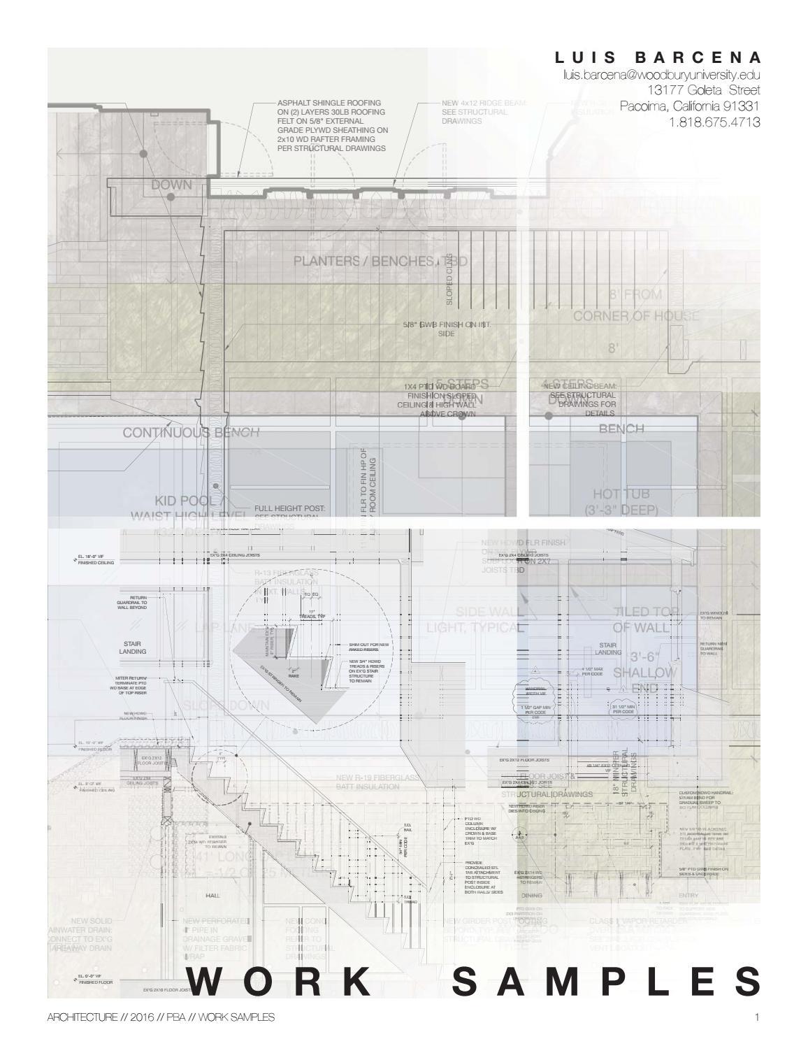 Luis Barcena Work Samples by Luis Barcena - issuu