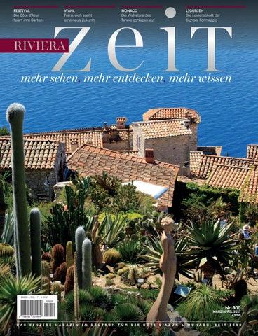 Riviera Zeit - März/April 2017 by Riviera Press - issuu