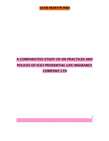 hr practices in insurance Directorate for financial and enterprise affairs oecd guidelines for good practice for insurance claim management these guidelines, prepared by the oecd insurance.