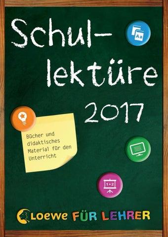Loewe Schullektüre 2017 by Loewe Verlag - issuu