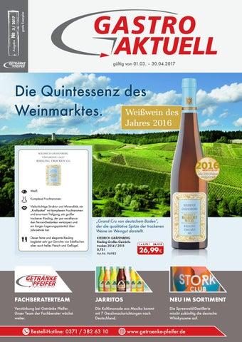 Gastro Aktuell - Ausgabe 3 / 2017 by Getränke Pfeifer GmbH - issuu