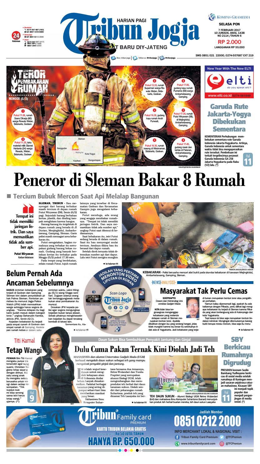 Tribunjogja 07 02 2017 By Tribun Jogja Issuu Produk Ukm Bumn Bunge Tanjung Betabur