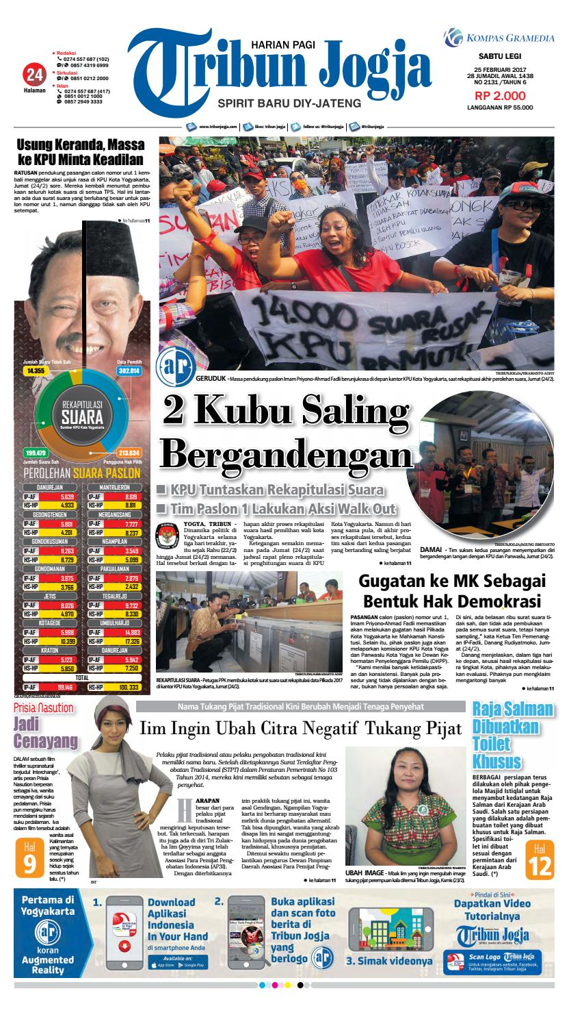 Tribunjogja 25 02 2017 By Tribun Jogja Issuu Produk Ukm Bumn Bakso Ikan Tuna Khas Ambon