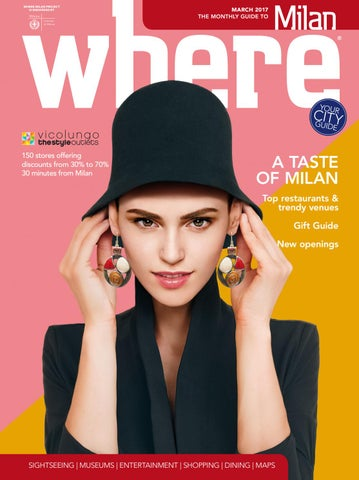 39e14122818 Where Milan n 77 March 2017 by Where Italia - issuu