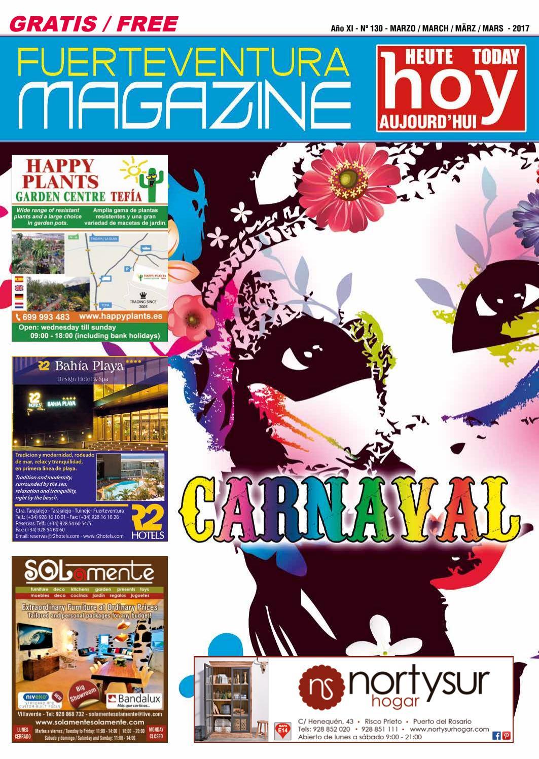 Fuerteventura Magazine Hoy Nº 130 Marzo 2017 By