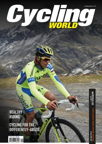 d3afd892c80 Cycling World April 2017 by CPL Media - issuu