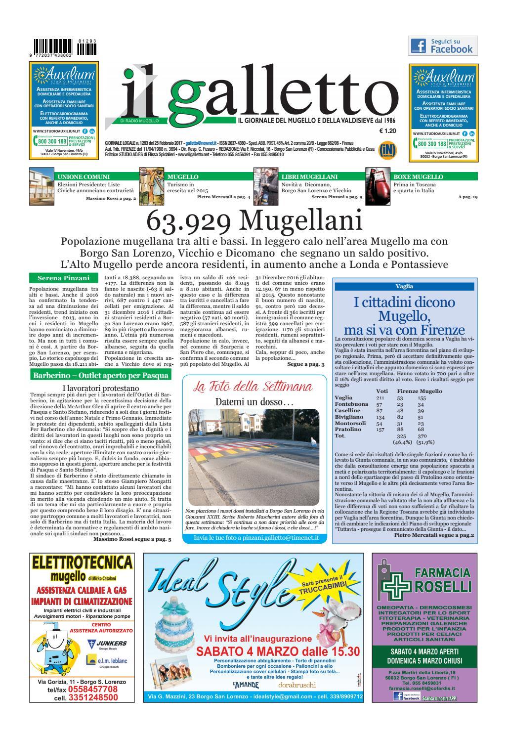 Galletto 1293 Del 25 Febbraio 2017 By Il Galletto Giornale Issuu