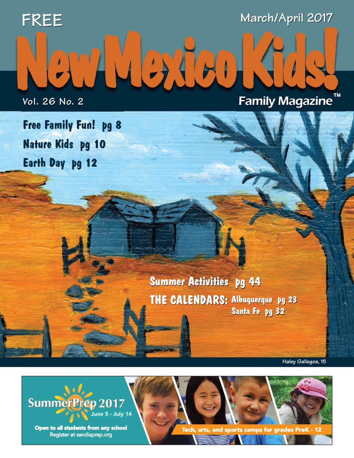New Mexico Kids! March April 2017 by New Mexico Kids! - issuu