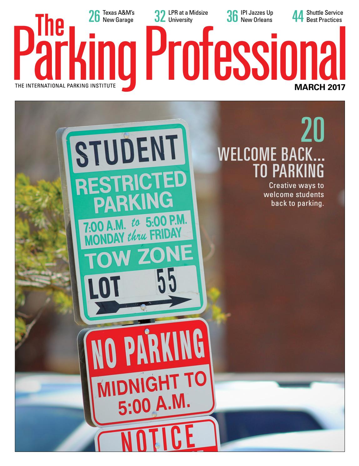 The Parking Professional March 2017 By International Repurposed Circuit Boards Recycled Board Clipboards Institute Issuu