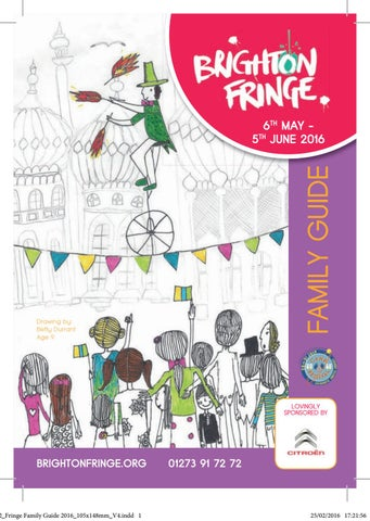 brighton fringe brochure 2016 by brighton fringe issuu