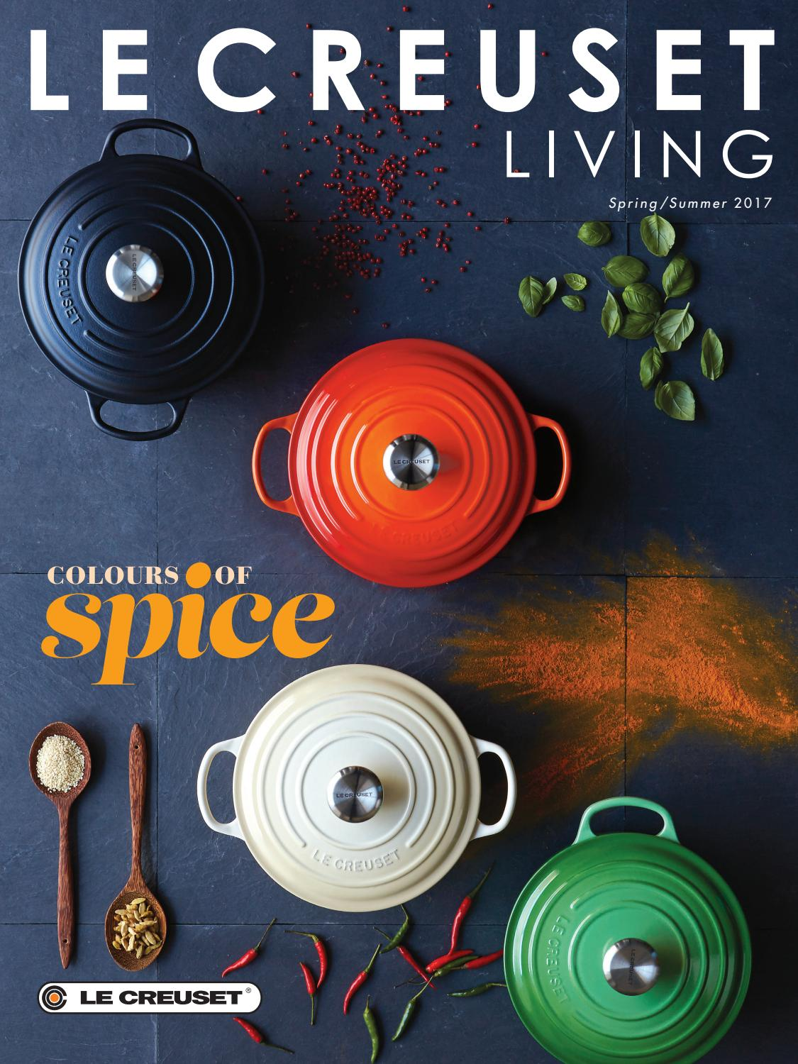 Colours Of Spice Magazine By Le Creuset Uk Issuu Froot Loops 300g Free Foot Ball Bowl P