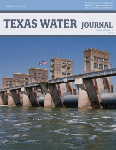 Texaswaterjournal Org Texas Water