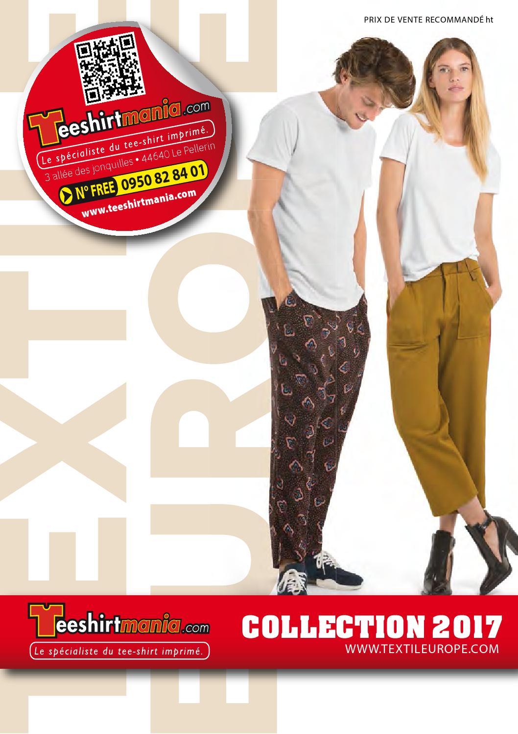 8654d6f024eeb Catalogue textile 2017 teeshirtmania web 499p by TEESHIRTMANIA.com - issuu