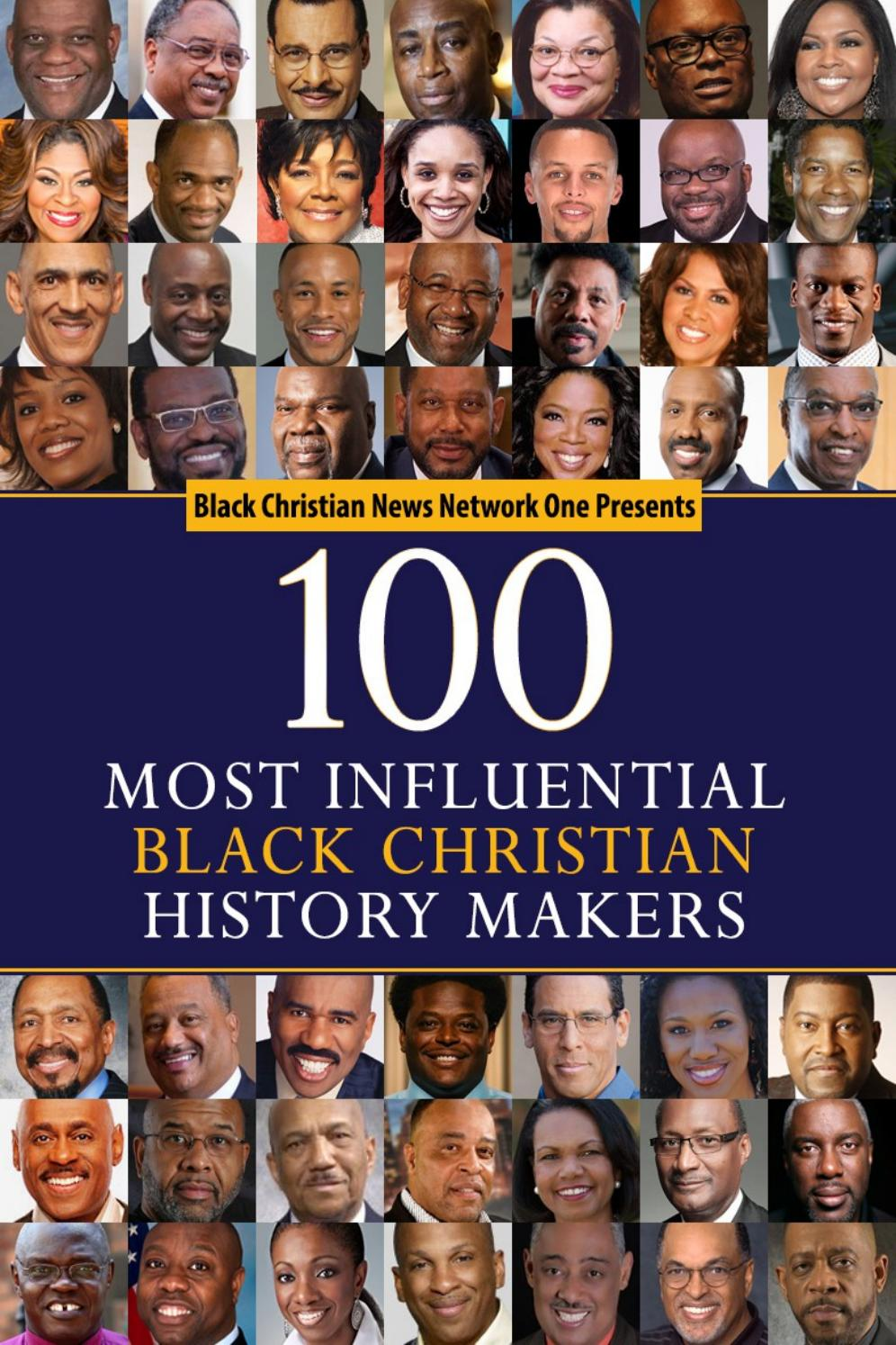 100 Most Influential Black Christian History-Makers by GLMO