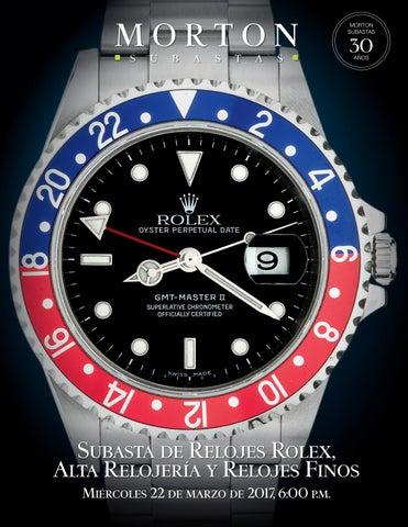 c72b58fd78a Subasta de Relojes Rolex