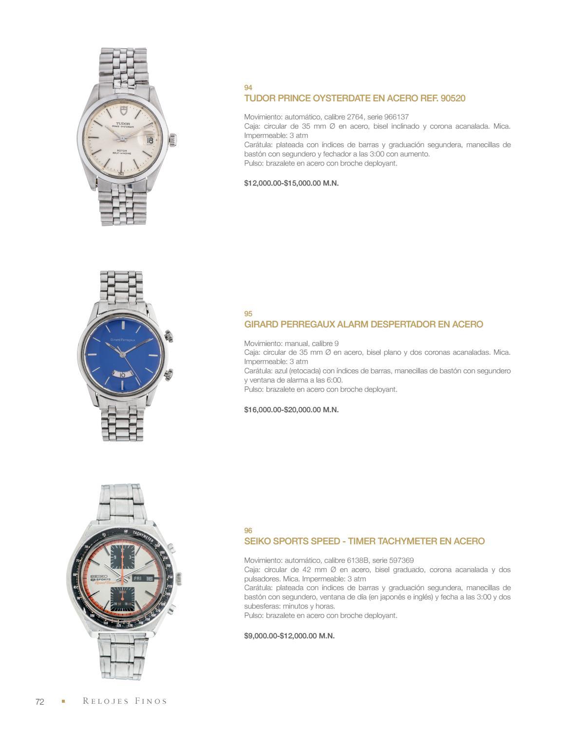 5a38800a5c35 Subasta de Relojes Rolex