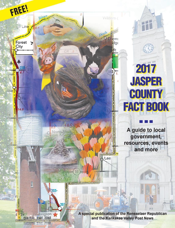 2017 Jasper County Fact Book by Rensselaer Republican