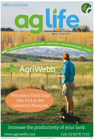 AgLife - Wimmera Machinery Field Days 2017 edition by The