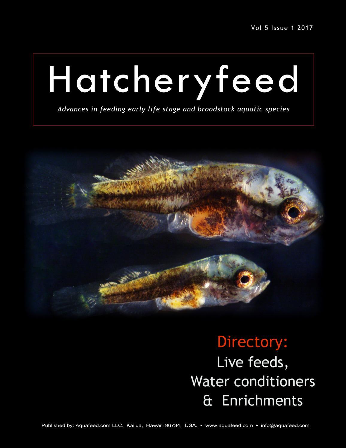 Hatcheryfeed Vol 5 Issue 1 2017 By Aquafeedcom Issuu Artemia Instant