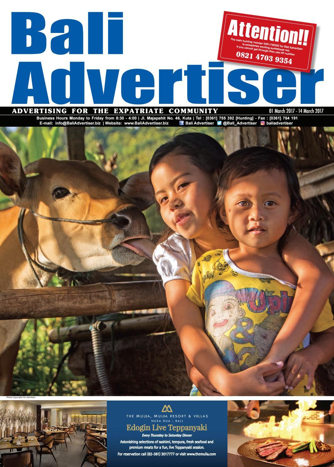 BA_01 March 2017 by Bali Advertiser - issuu