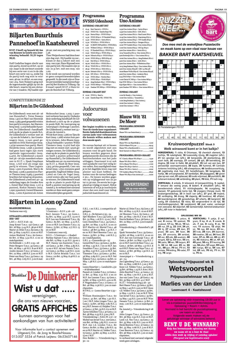 De Duinkoerier 01-03-2017 by Uitgeverij Em de Jong - issuu fae44194c97c