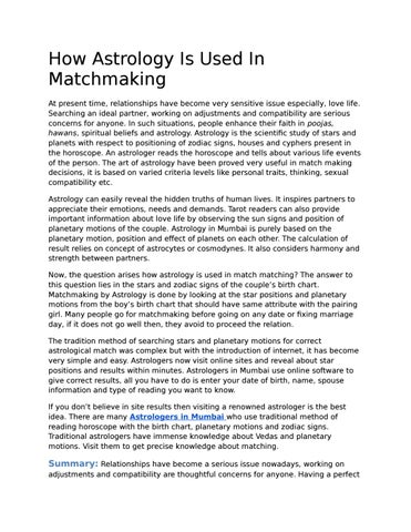 Online matchmaking based on date of birth