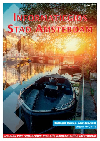 7b80760647d Informatiegids Amsterdam januari 2017 by Maypress Online Library ...