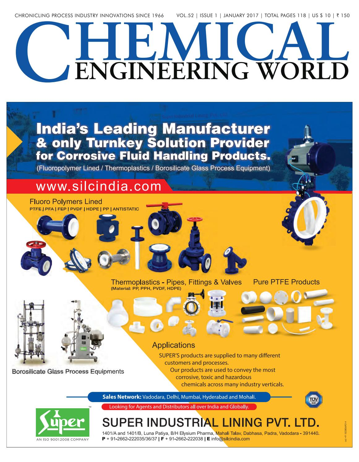 CEW January-2017 ChemTech World Expo 2017 Special by Chemical