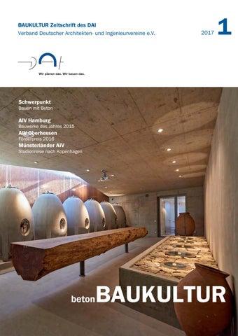 BAUKULTUR 1_2017 BetonBAUKULTUR By DAI Verband Deutscher Architekten ...