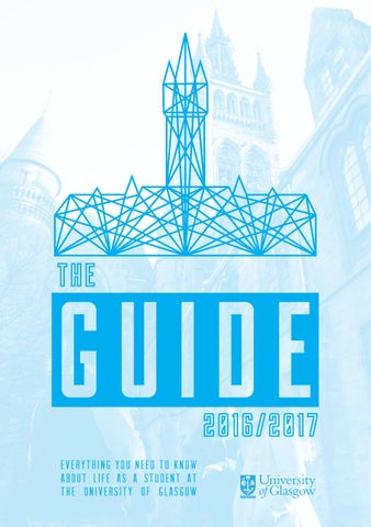 By Students 17 Guide The 2016 Glasgow University Yb7f6gy
