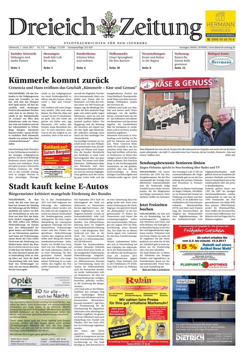 Dz Online 009 17 C By Dreieich Zeitung Offenbach Journal Issuu