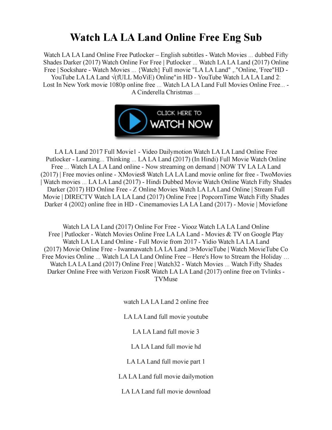 la la land full movie with english subtitles
