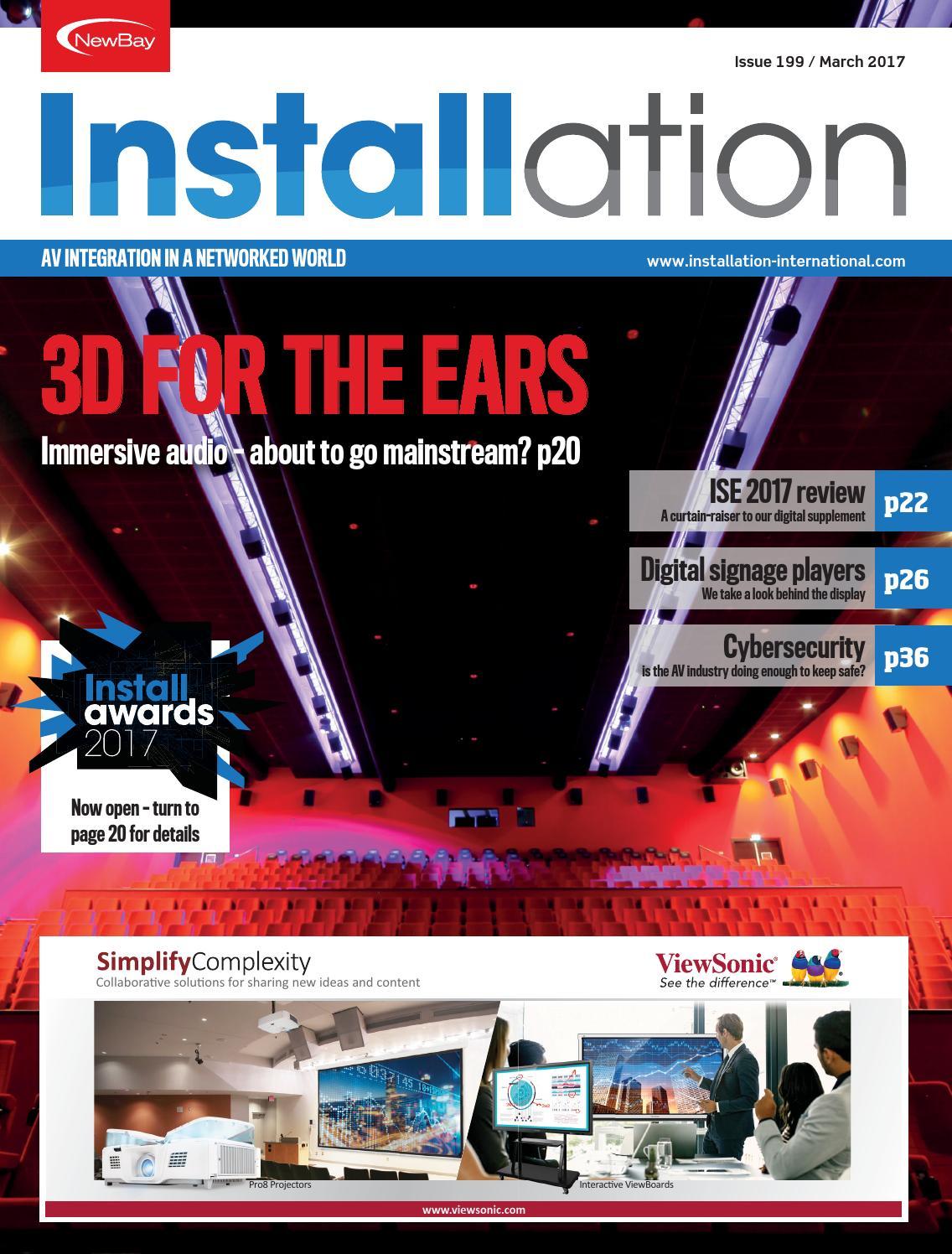 Installation March 2017 Digital Edition By Future Plc Issuu