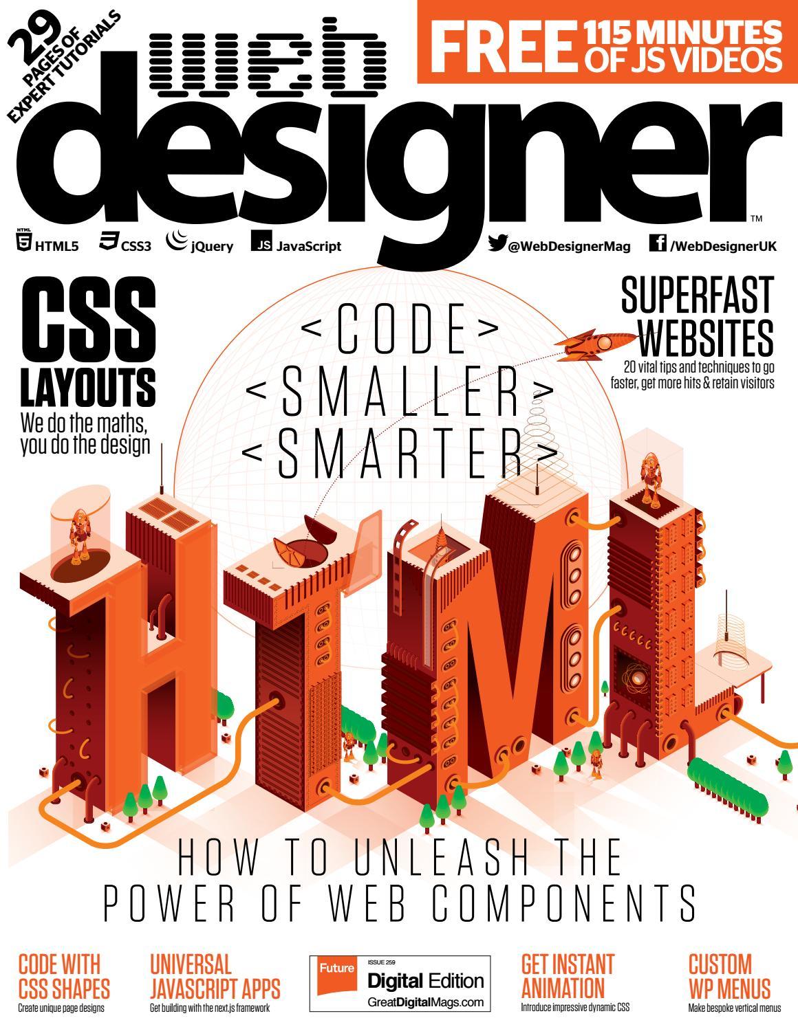 Web Designer 259 Sampler By Future Plc Issuu