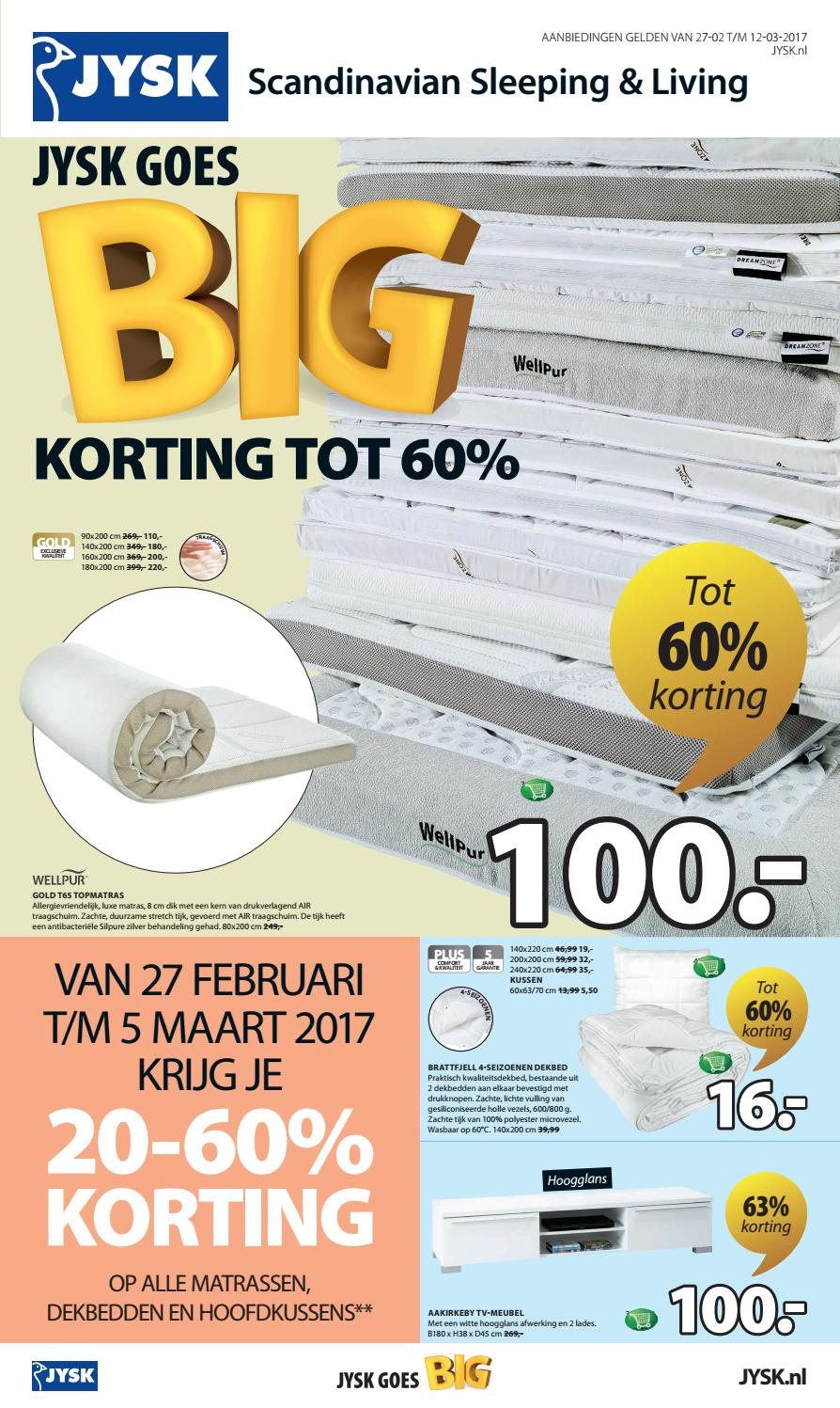 Tv Meubel Aakirkeby 2 Lades Hoogglans.Cp1009 20170301 Jysk Goes Big By Publisher 81 Nl Issuu