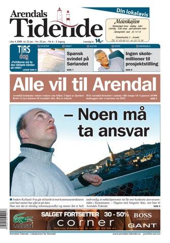 2e11faf0 Arendalstidende 20080122 000 00 00 by Tvende Media AS - issuu