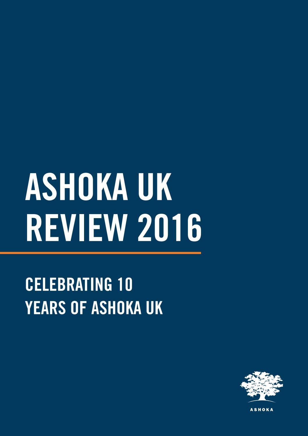 Ashoka UK Review 2016 by Ashoka Changemakers - issuu