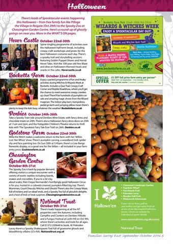 Families Surrey East Sep Oct 2016 By Families Magazine Issuu