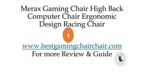 Merax Gaming Chair By Ronakarlin Issuu