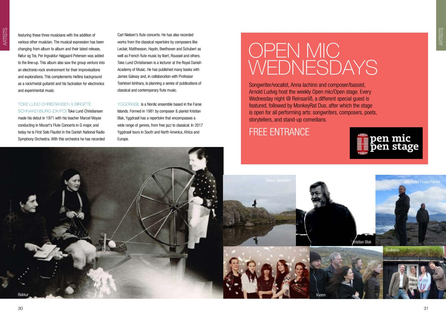 Summartónar 2017 programme by Visit Faroe Islands - issuu