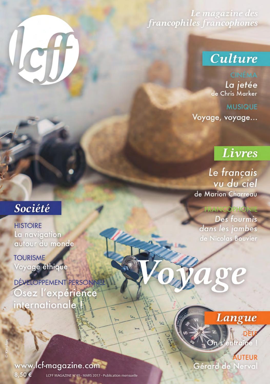 Lcff Magazine N 49 Voyage By Lcff Issuu