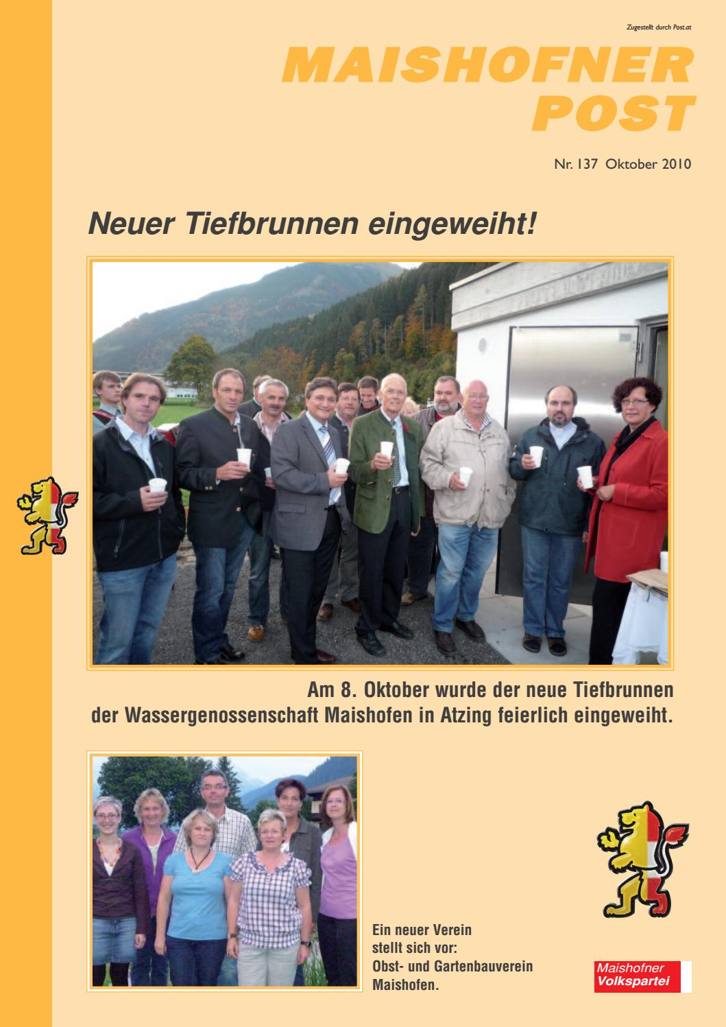 Neue bekanntschaften maishofen: Partnervermittlung umgebung in
