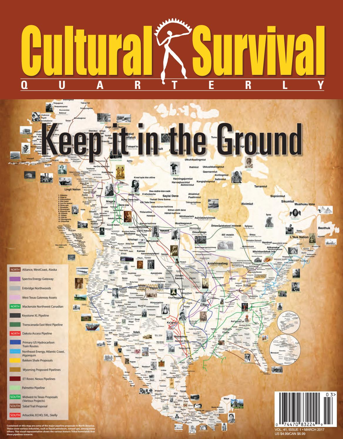 CSQ 41-1 Keep it in the Ground by Cultural Survival - issuu