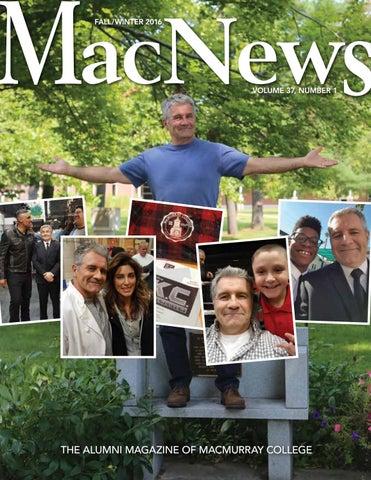 MacNews Fall/Winter 2016 By MacMurray College   Issuu