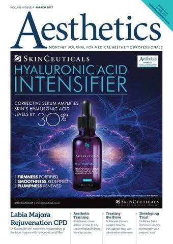 Aesthetics March 2017 by Aesthetics Journal - issuu