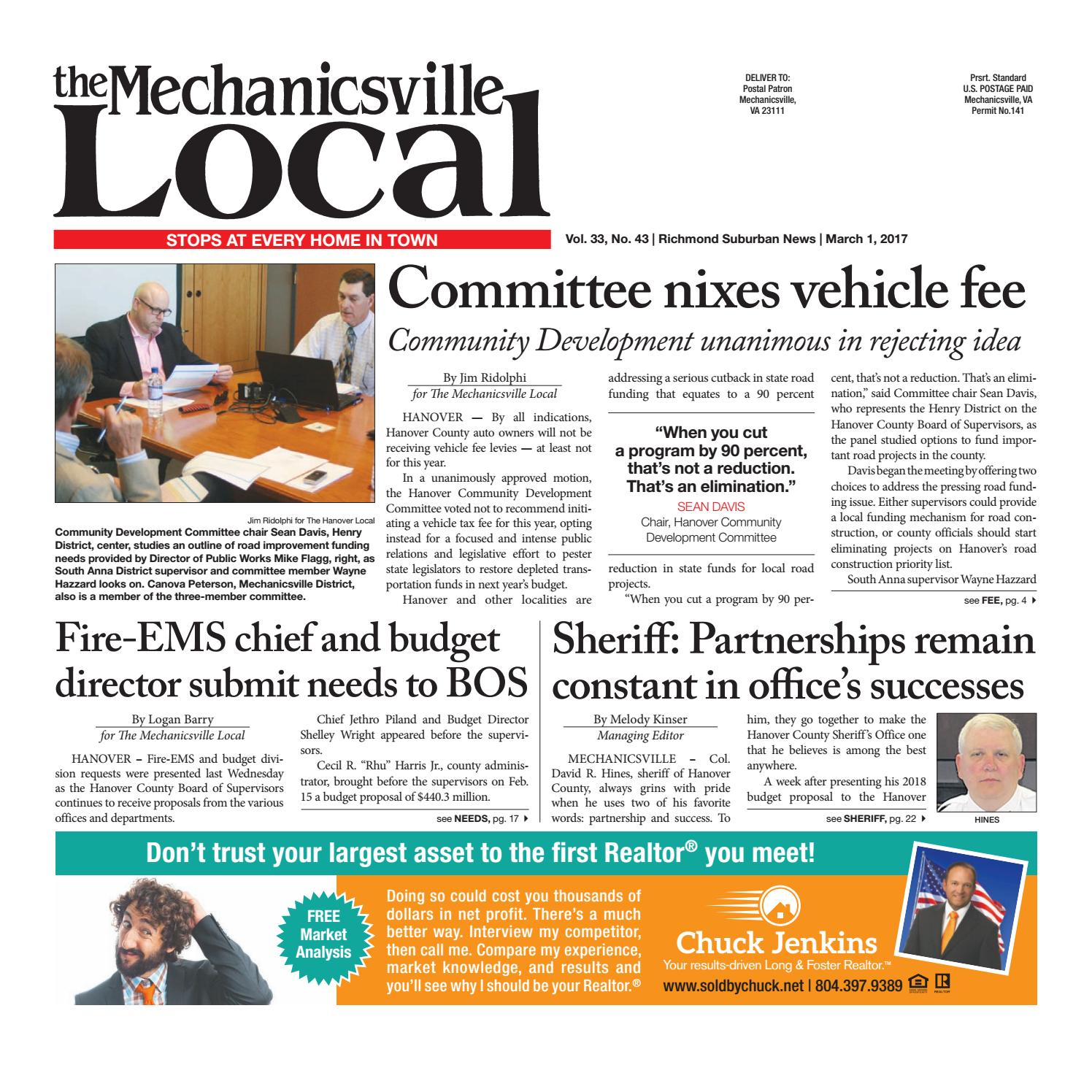 01/03/17 by The Mechanicsville Local - issuu