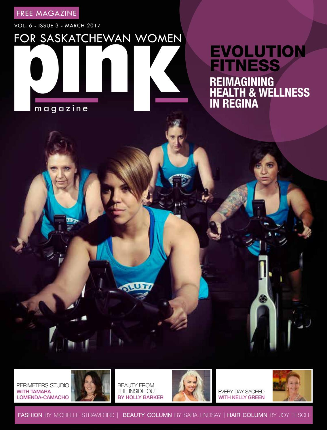 Pink magazine vol 5 march 2017 by compass advertising for 306 salon regina