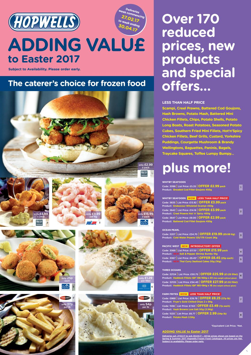 Adding value to easter 2017 by Hopwells Ltd - issuu