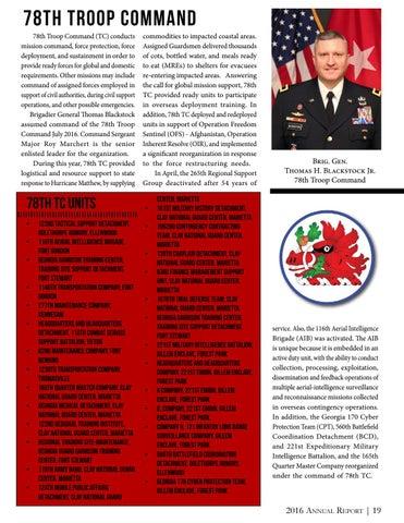 Annual Report 2016 By Georgia National Guard Issuu