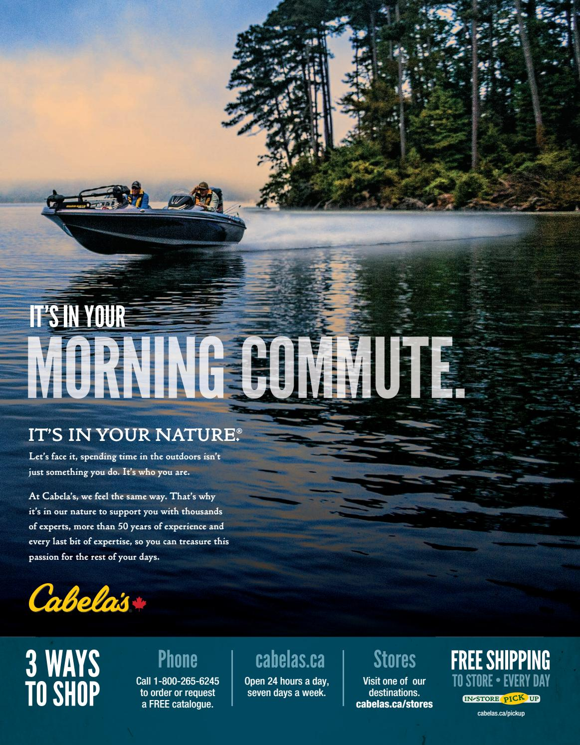 2017 Cabela's Canada Spring & Summer Catalogue by
